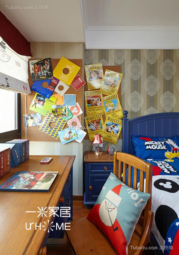 简约卧室墙面色彩设计