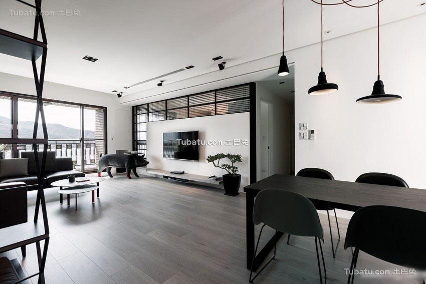 日式风格四室两厅装修设计效果图2018