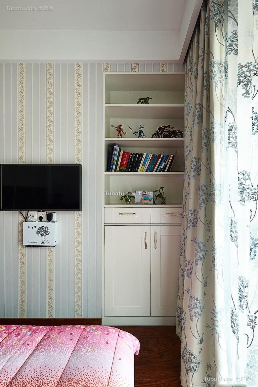 卧室整体书柜效果图大全