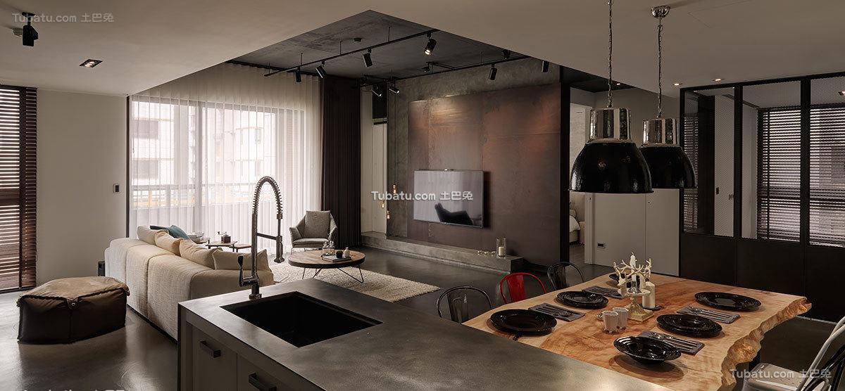 现代风格餐厅设计图欣赏