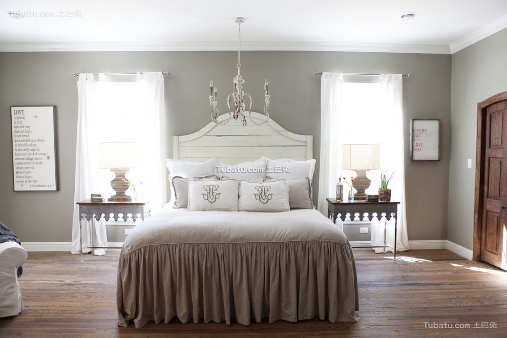 简欧装修设计卧室效果图欣赏