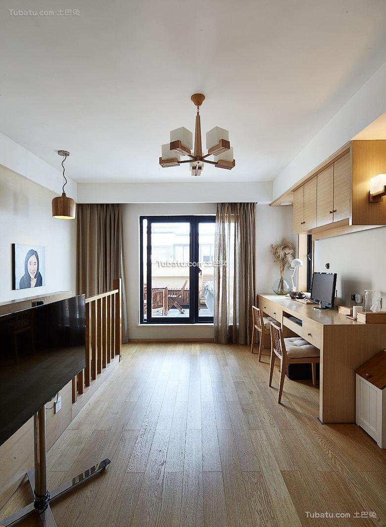 77平米简约风格小户型家居装修图欣赏