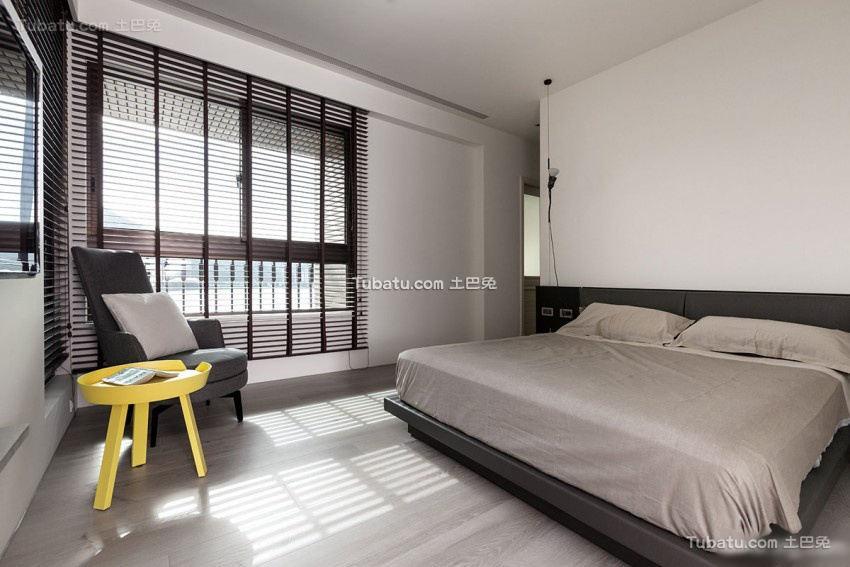 时尚日式风格时尚卧室效果图