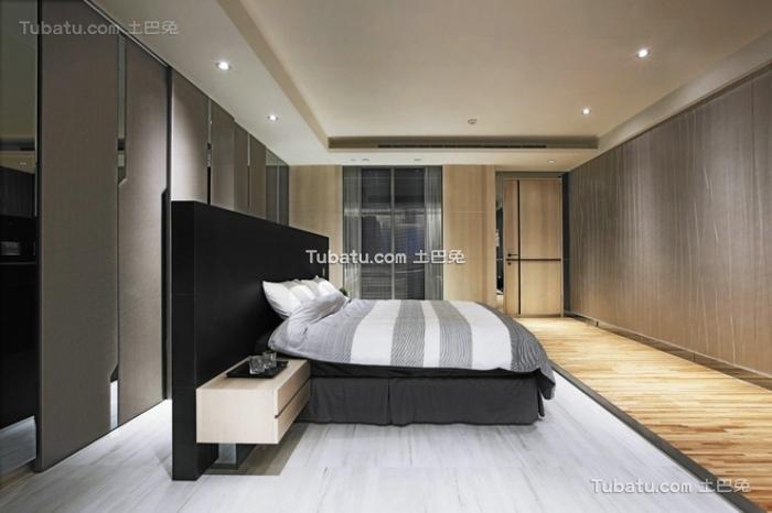 现代装修设计卧室效果图大全