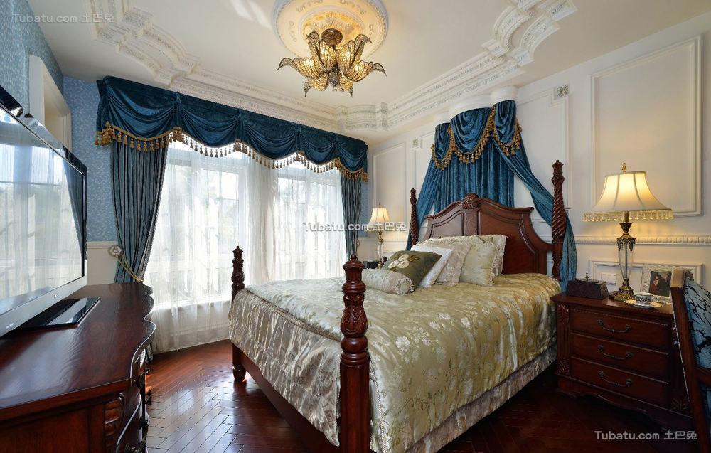巴洛克式大卧室图片欣赏