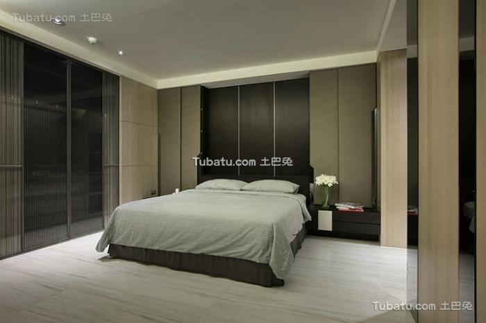 日式现代时尚卧室效果图