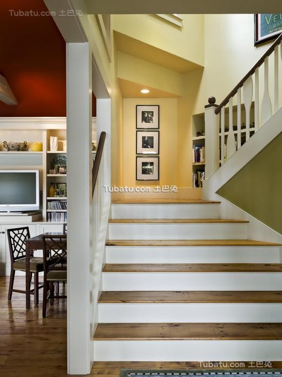 混搭风格室内楼梯图片欣赏