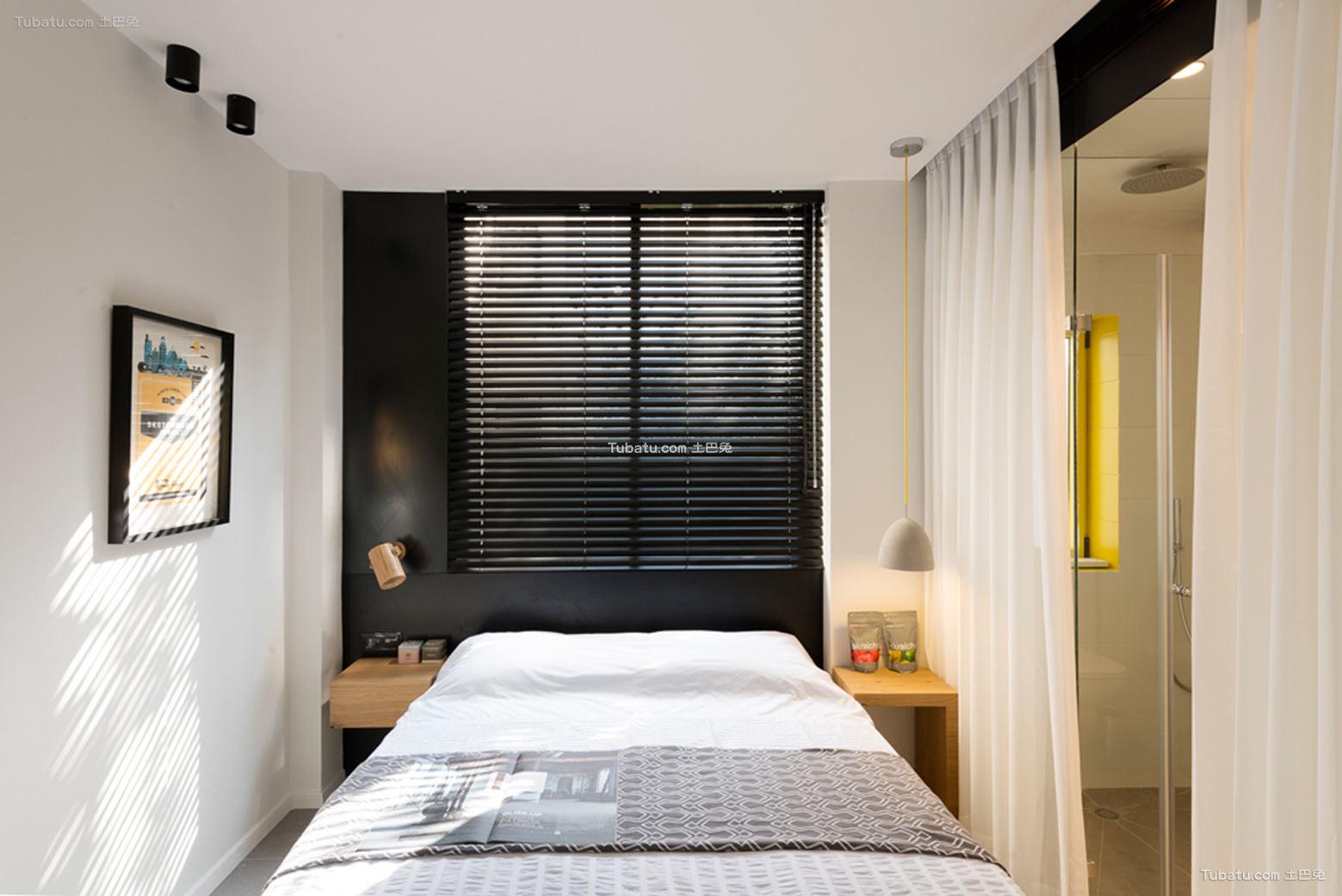 现代装修设计小卧室图片