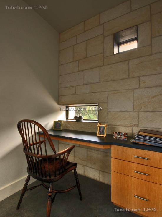 现代装修设计书房窗户图片