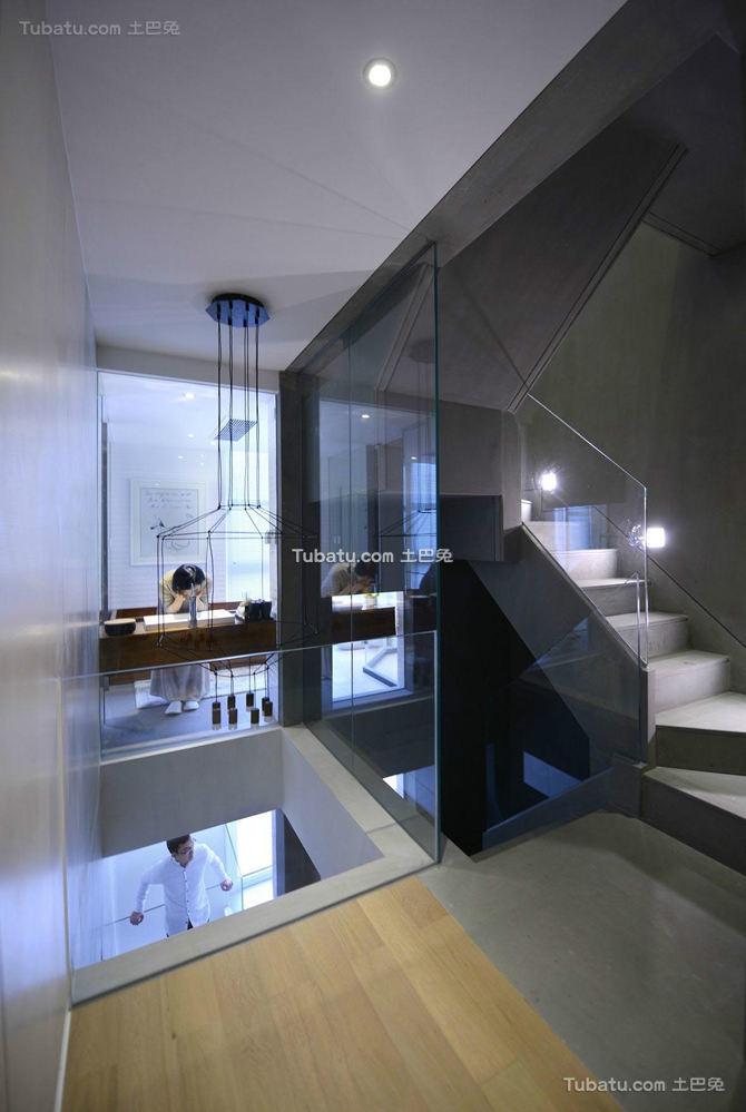 最新简约复式楼房装修设计图片欣赏