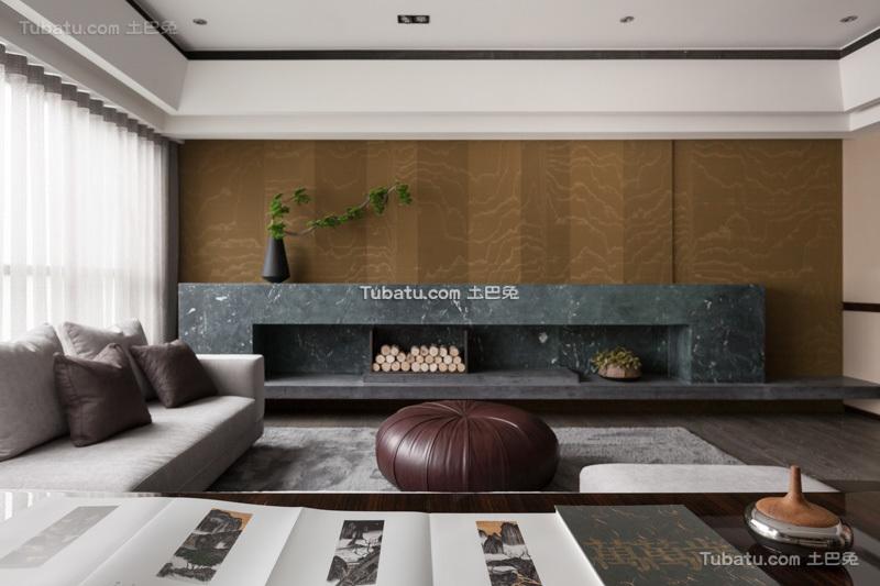 现代日式风格三室两厅图片大全