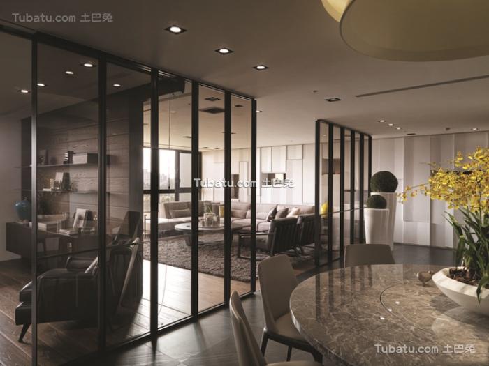 现代装修设计室内隔断图片欣赏