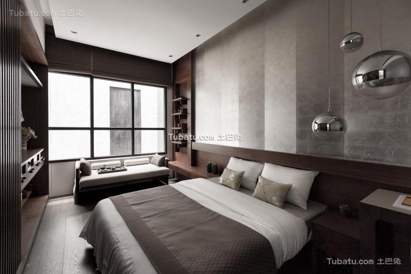现代日式装修设计卧室图片