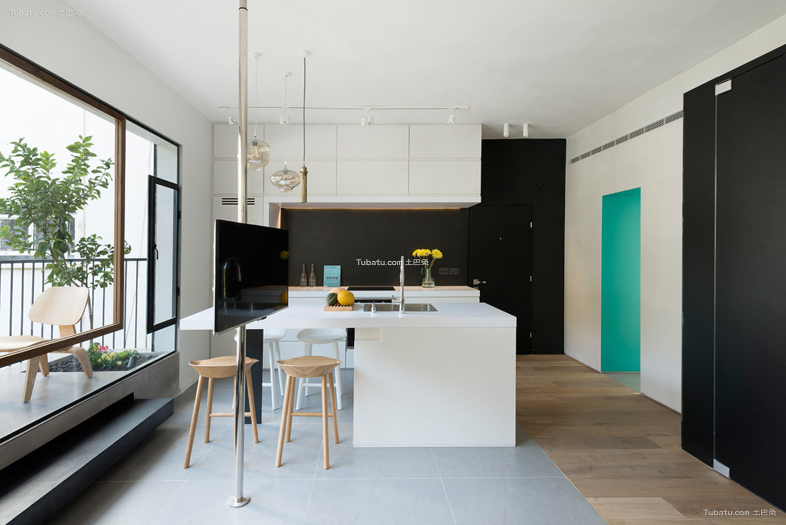 现代家装设计吧台图片欣赏大全
