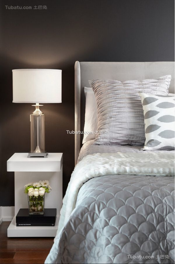 北欧装修卧室床头灯具效果图
