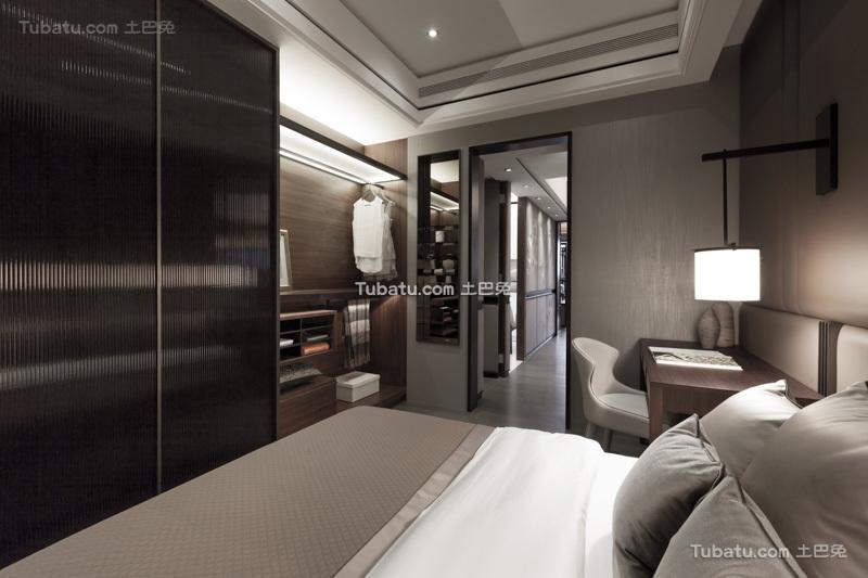 现代日式时尚卧室效果图大全