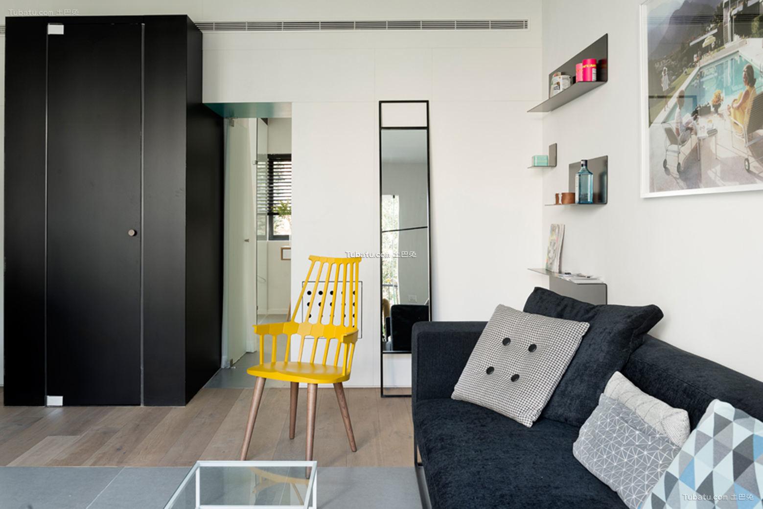 现代风格两室两厅设计图大全欣赏