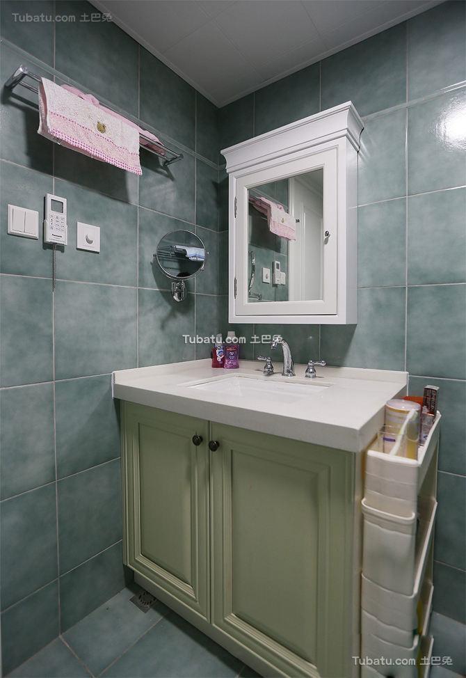 时尚美式家居卫生间瓷砖图片大全
