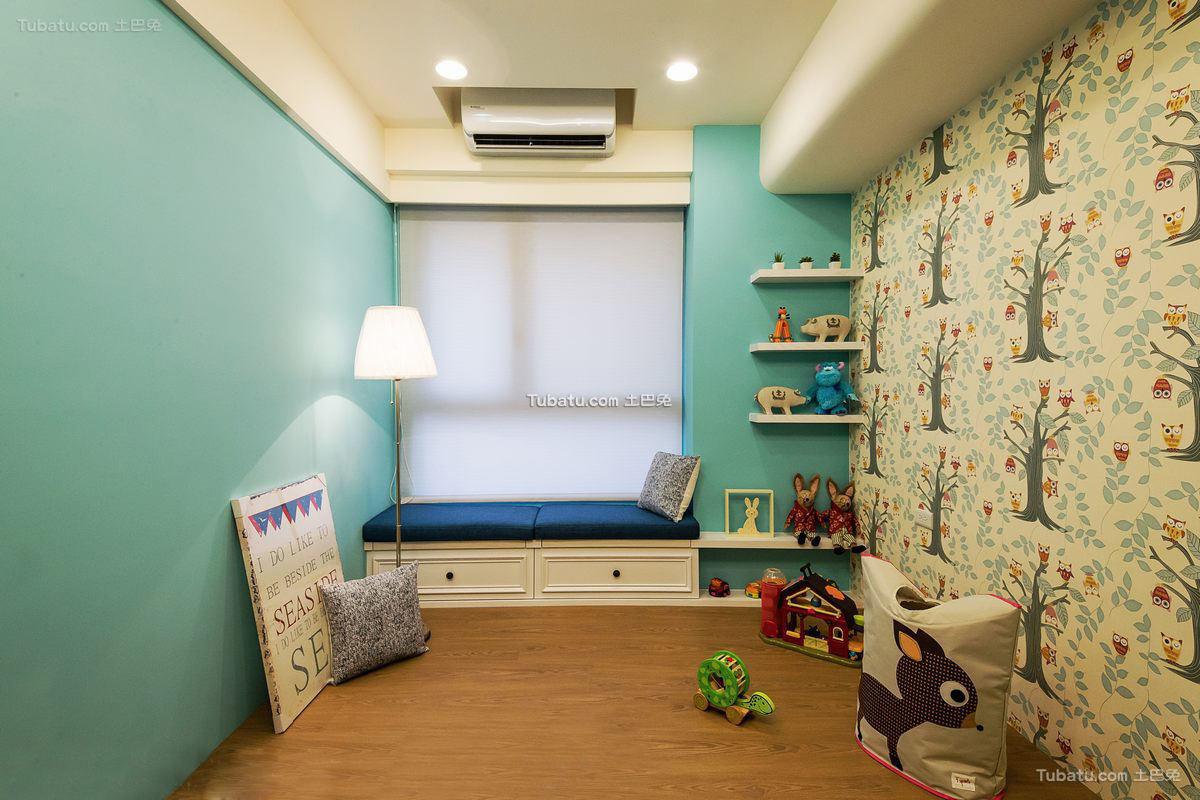 现代风格休闲室飘窗设计图片