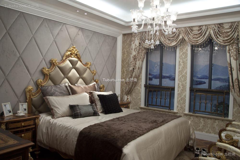 欧式装修设计时尚卧室图片