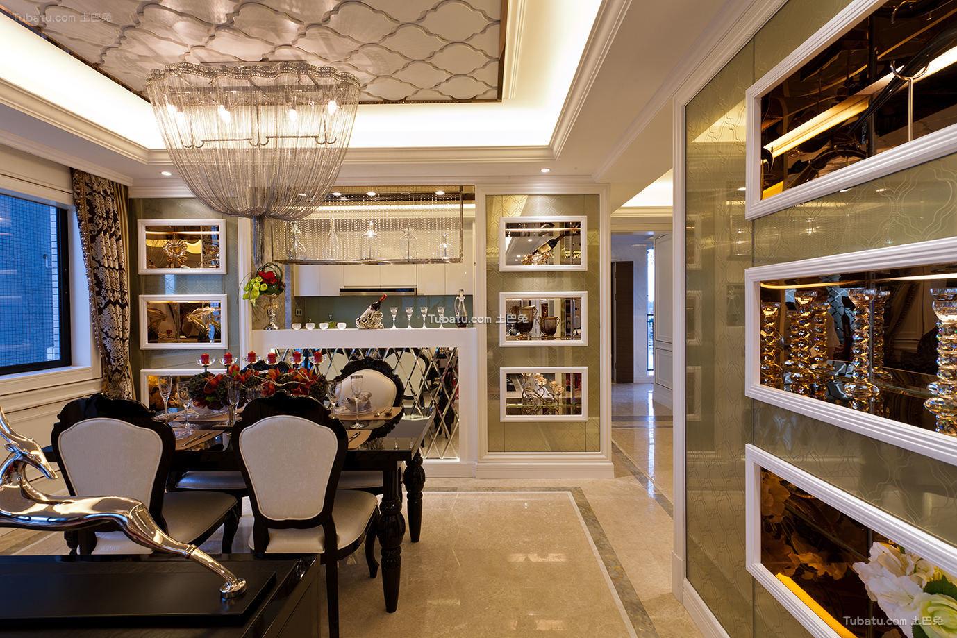 新古典风格餐厅设计图片大全