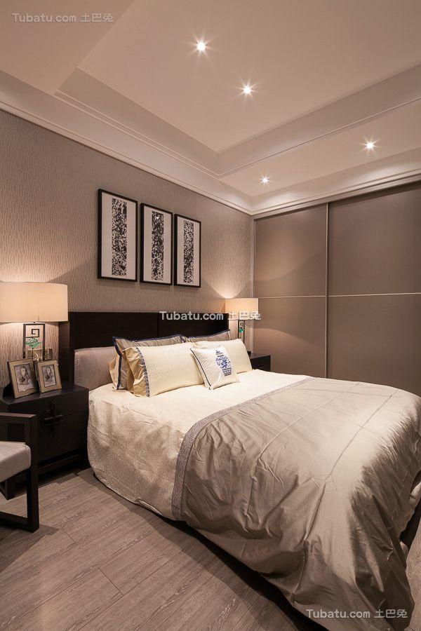 现代风格复式时尚卧室效果图