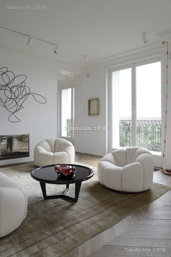 简约风格60平米一居室装修图片大全