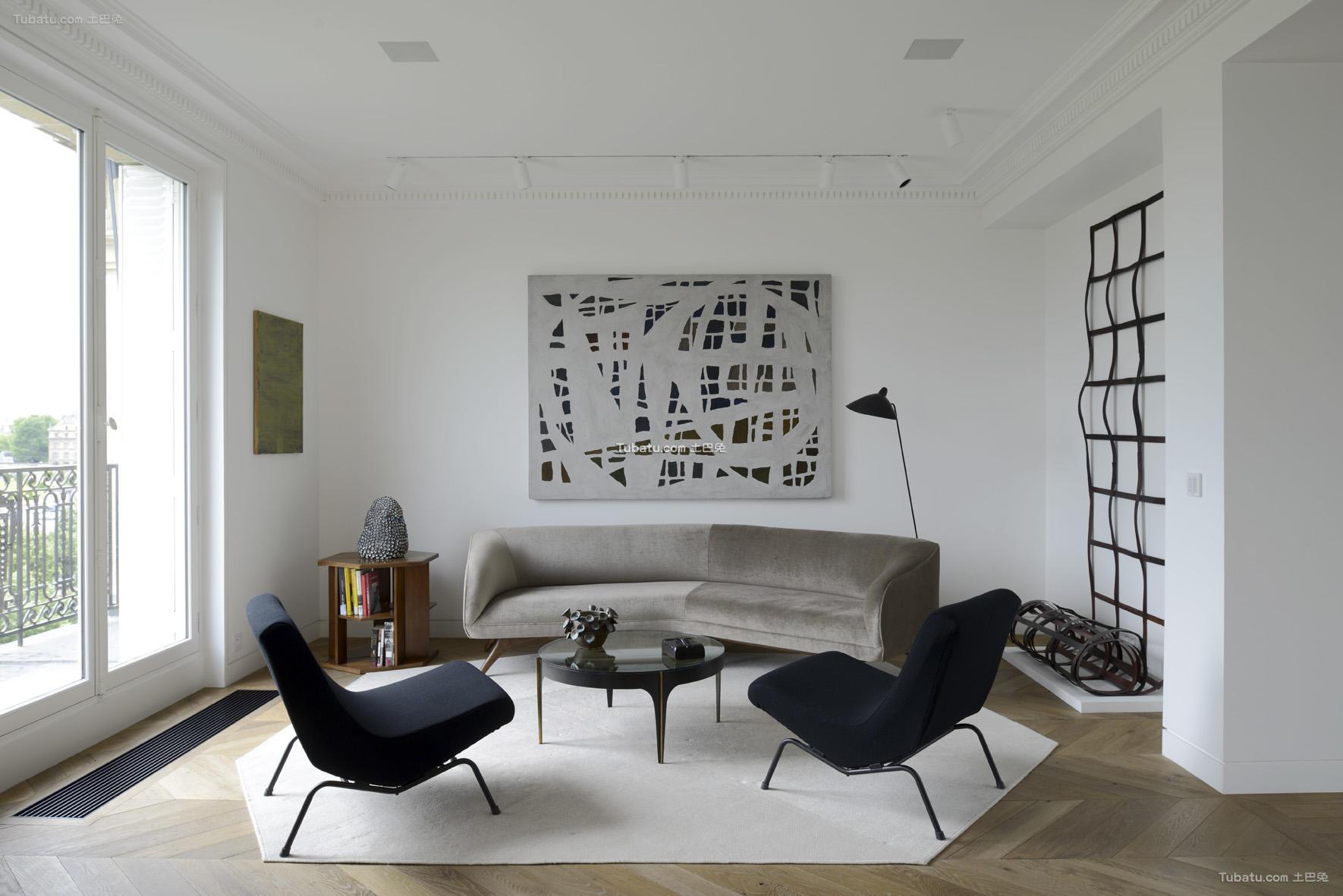 简约装修设计小客厅图片大全