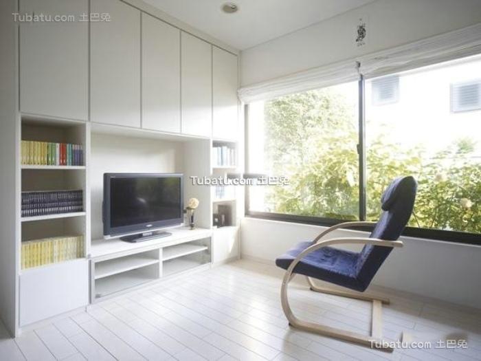 极简主义装修设计室内电视背景墙效果图