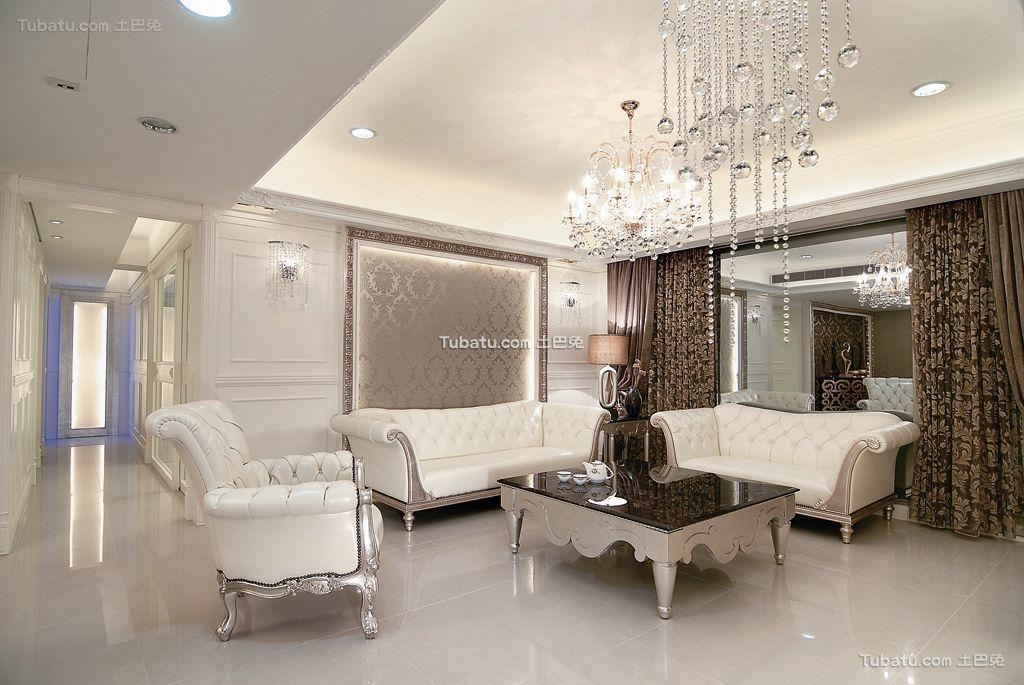 欧式装修风格客厅效果图片
