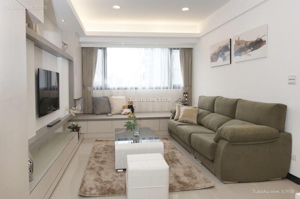 家装小客厅装修效果图