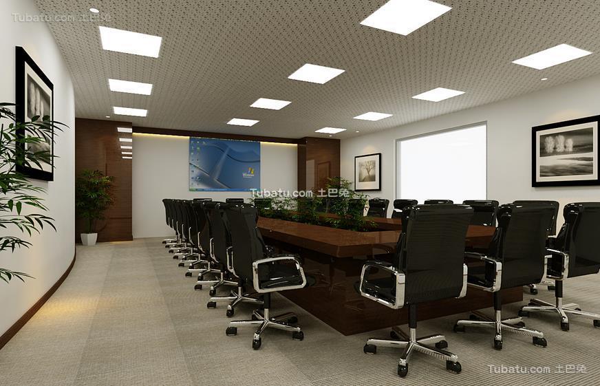 会议室装修设计效果图2015
