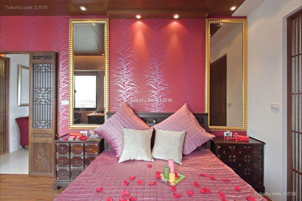 中式风格婚房装饰图片