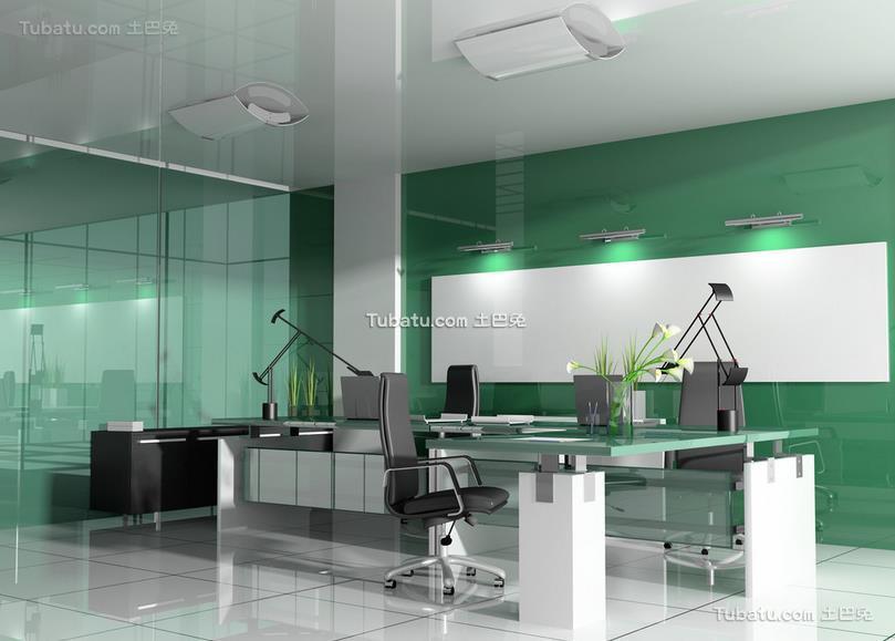 2018办公室玻璃装饰设计效果图片欣赏
