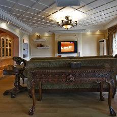 美式客厅设计图大全2015