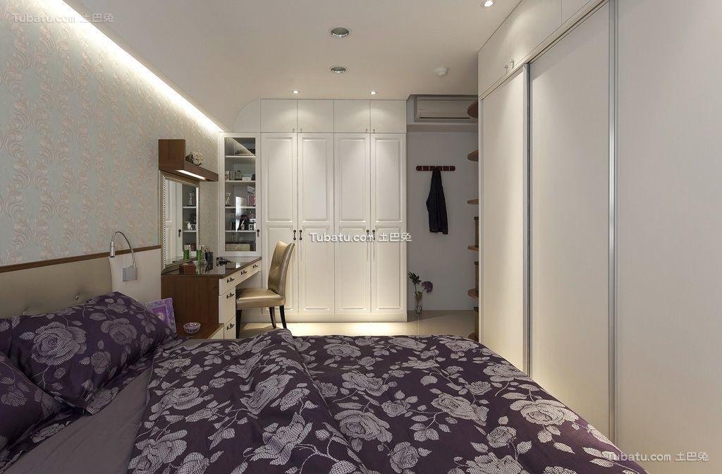 简约三室一厅室内次卧室设计图片