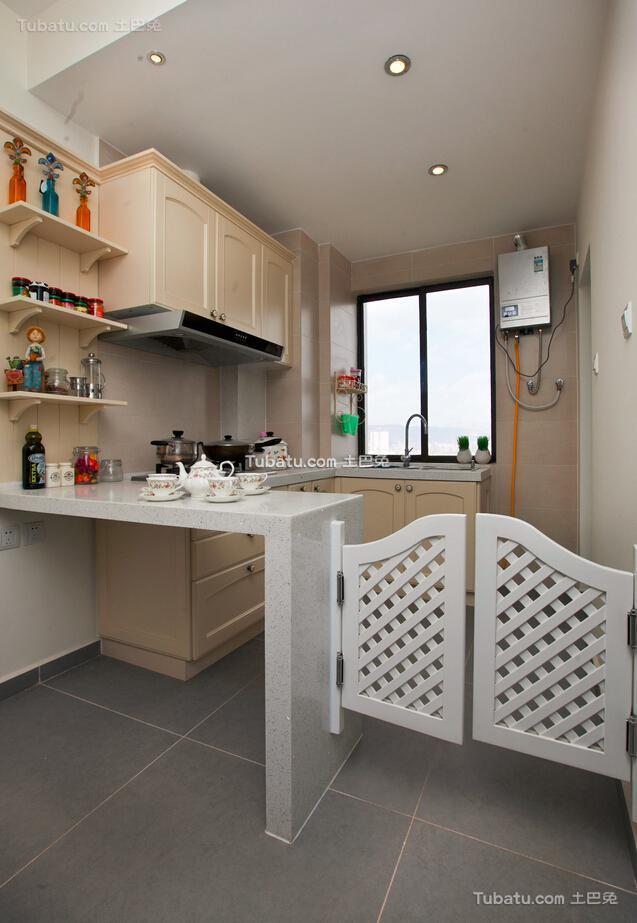 地中海厨房装修案例