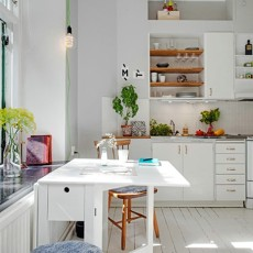 简约风格厨房图片大全