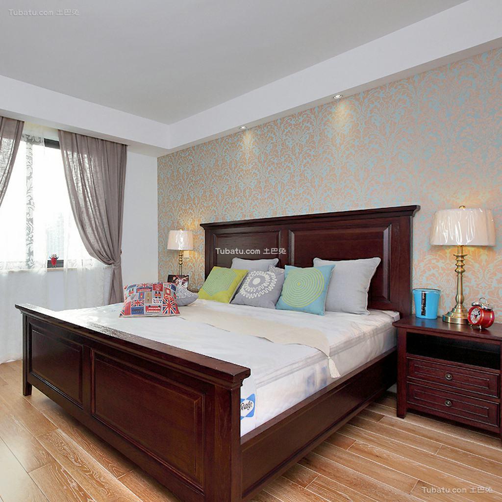 北欧装修设计时尚卧室最新图