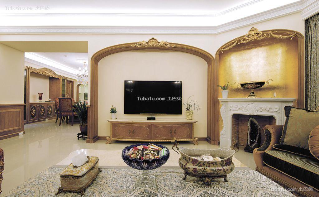 东南亚风格创意电视背景墙设计大全