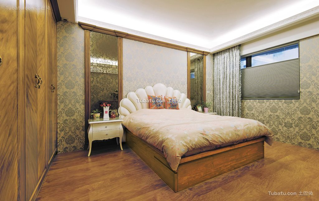 2016时尚东南亚风格浪漫卧室设计图