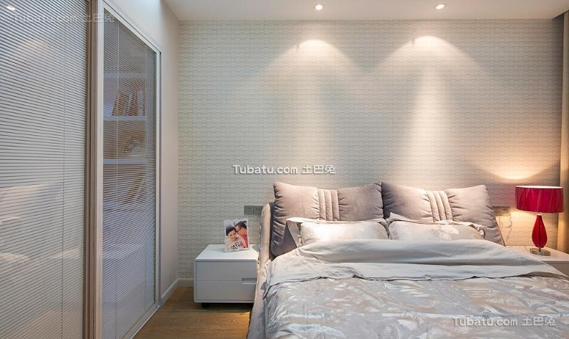 简约现代家装修设计卧室图