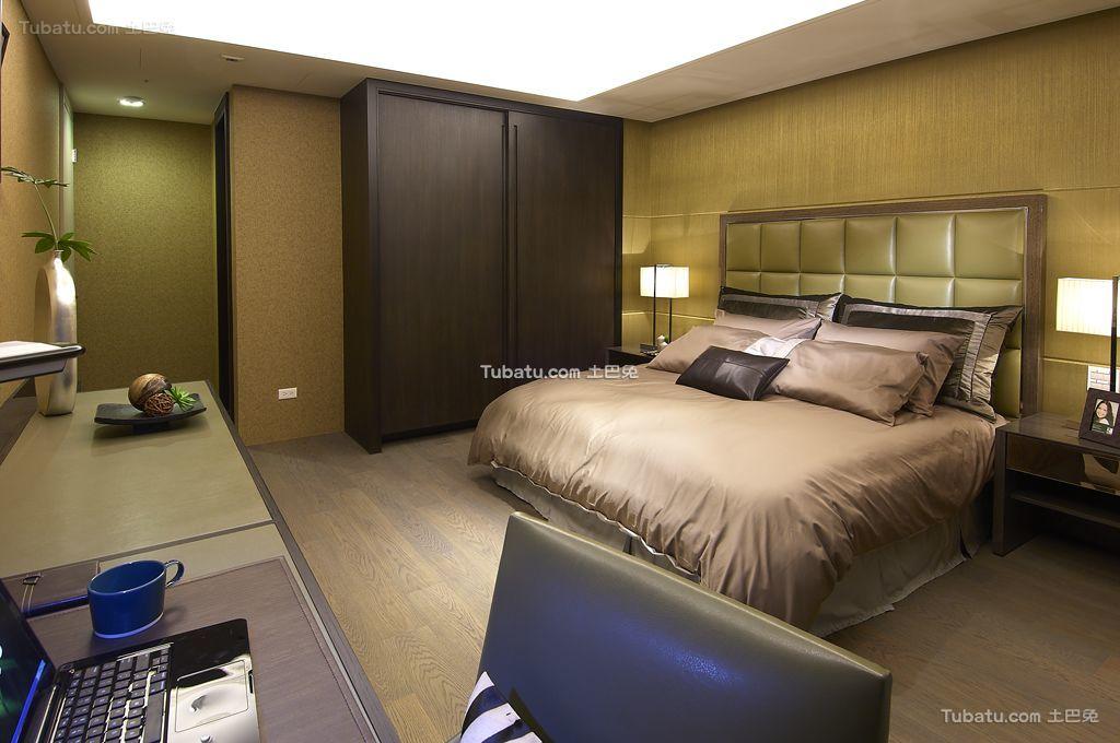 现代轻奢华卧室家居设计装修