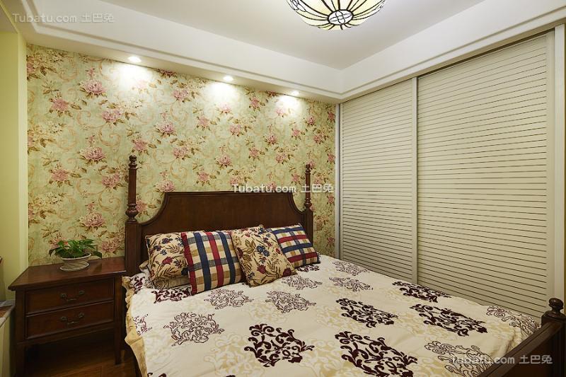 最新地中海风格温馨卧室设计图大全2016