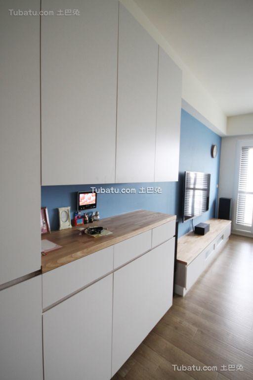 地中海风格客厅柜子设计图