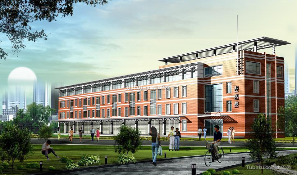 最新学校设计效果图片欣赏2015