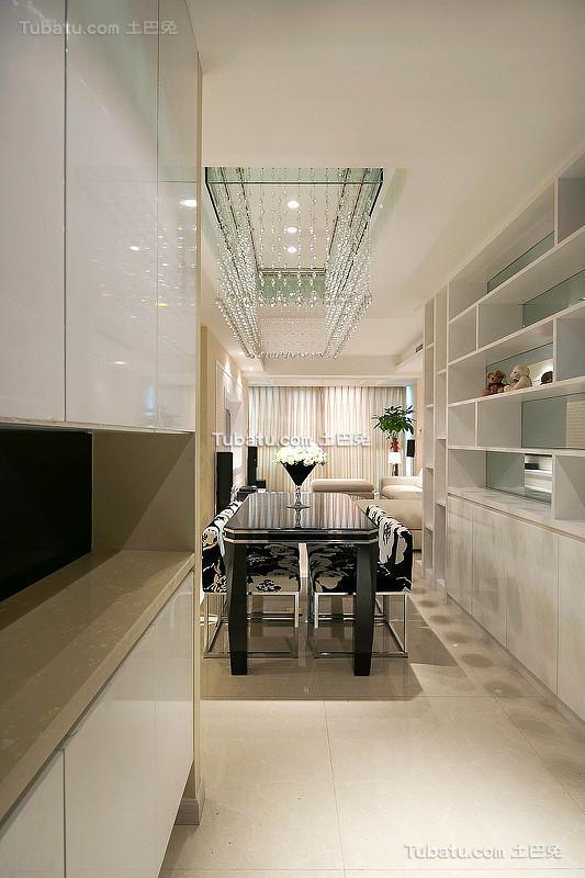 现代简约装修餐厅效果图2015大全