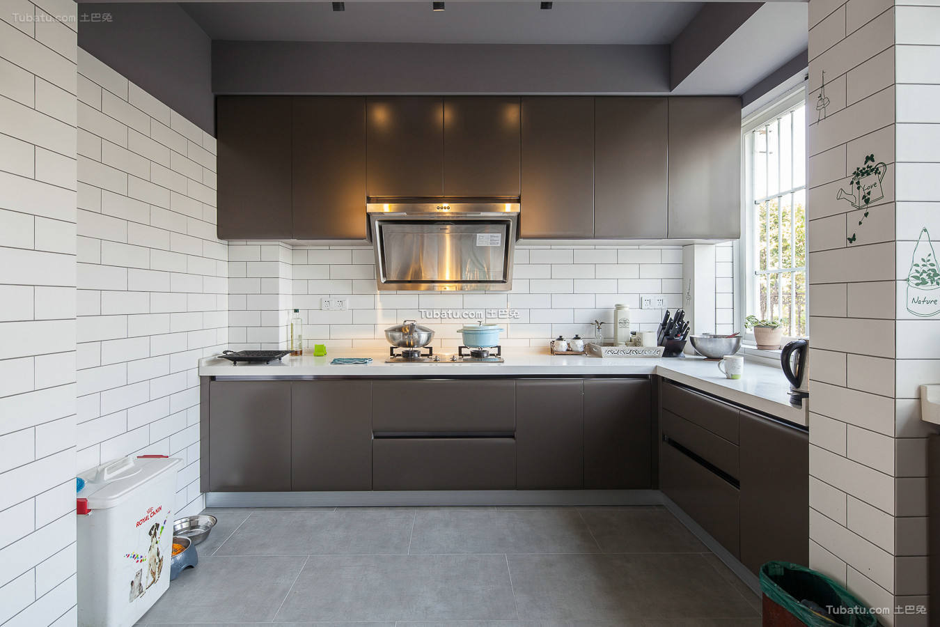 美式厨房墙砖