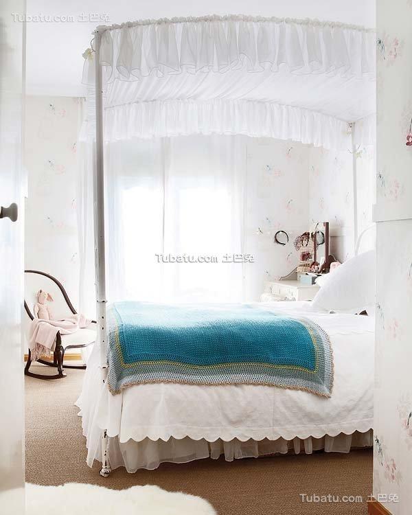 卧室田园风装修