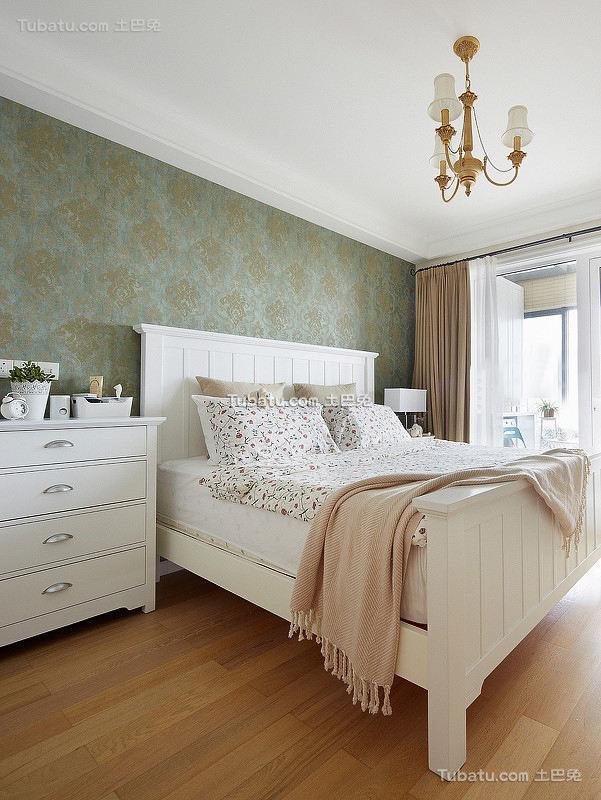 美式清新风格卧室